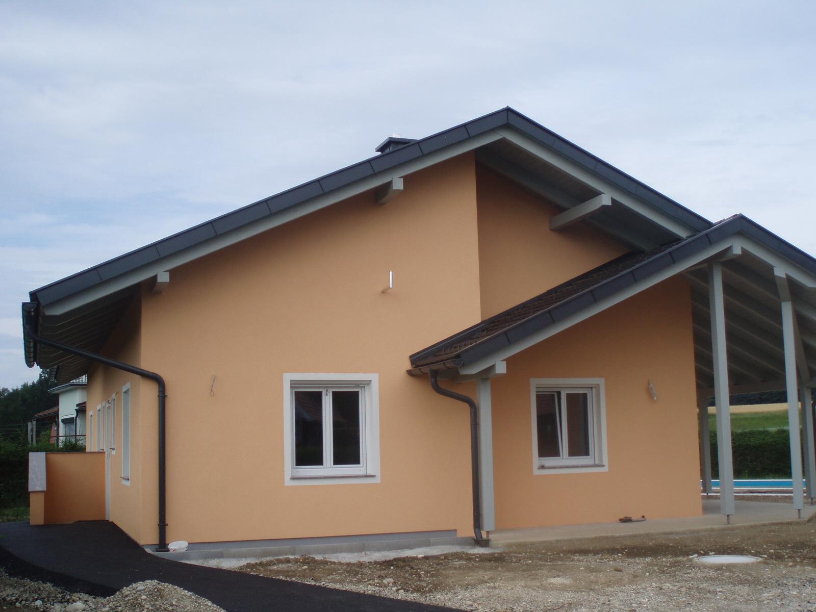 Neueindeckung eines Einfamilienhauses